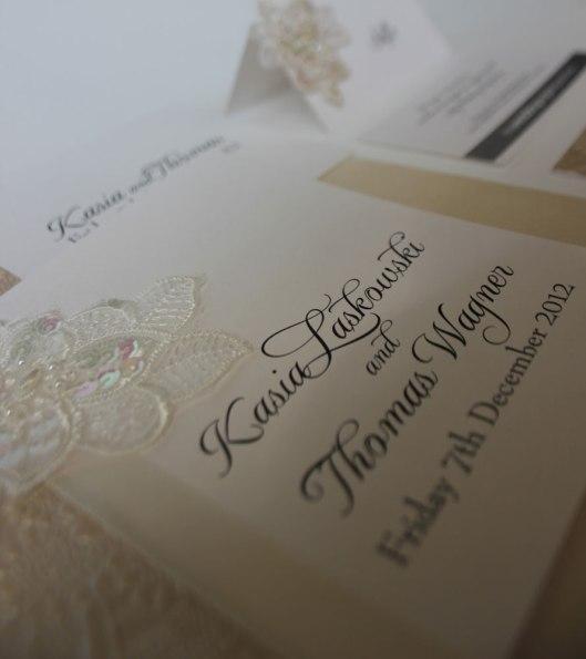 Kasia and Thomas' December Wedding